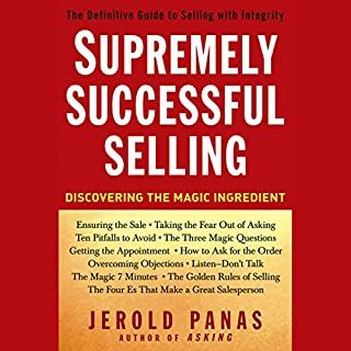 Supremely Successful Selling audiobook cover art