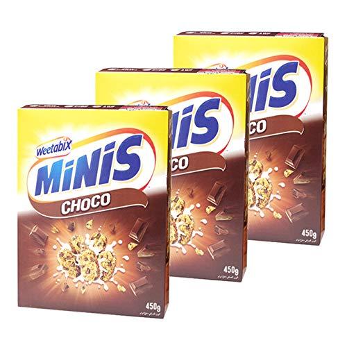 ウイータビックス ミニ チョコレート 450g×3個セット シリアル weetabix