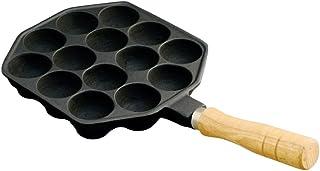 池永鉄工 たこ焼き プレート 日本製 ガス火専用 14穴 鉄鋳物 411 黒
