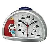 リズム(RHYTHM) 目覚まし時計 スヌーピー JOE COOL 電子音アラーム 4SE563MS19