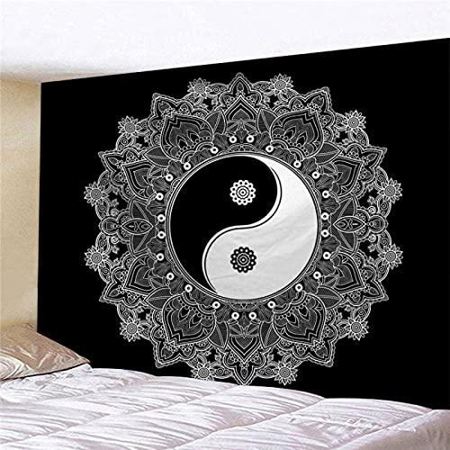 YDyun Tapiz De Tapices para La Sala De Estar Dormitorio Colgante de Pared con patrón de combinación