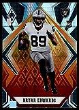 2020 Panini Phoenix Fire Burst #129 Bryan Edwards Las Vegas Raiders (Silver Prizm Refractor) NFL Football Card (RC - Rookie Card) NM-MT. rookie card picture