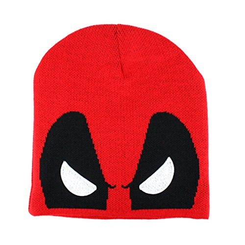 Deadpool Bonnet Beanie Rouge