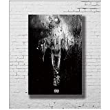 mmwin Big Sean Dark Sky Paradise LW-Canvas Posters and Prints Art Poster Canvas Painting Home Decor Unique Gift -50x75cm No Framed