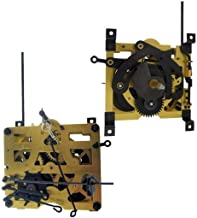 Regula 25 Cuckoo Wall Clock Mechanism Movement by QWIRLY - Replacement Part for Analog Clocks with Bird Rod, Chains, Stop Rings and Weight Hooks, One Day, Pendulum Length 19.5 cm / 7 3/4 inches