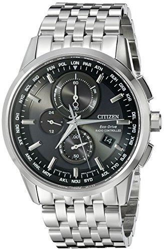 Citizen Eco-Drive World Chronograph A-T Mens Watch,...