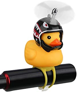 NEKRASH Duck Bike Bell, Rubber Duck Bicycle Accessories...