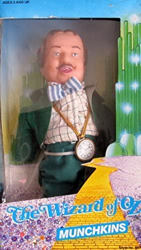 The Wizard of Oz MUNCHKINS MAYOR Doll w Thin Head (1988 MULTI Toys) by Multi Toys Corp