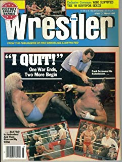 The Wrestler : I Quit! One War Ends, Two More Begin (March 1990)