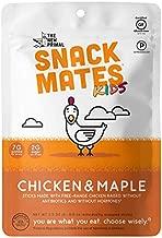 The New Primal Snack Mates Free-Range Chicken & Maple MINI Sticks, .5 Oz Sticks (Pack of 8) - Lunchbox Friendly, Keto, Paleo, High Protein, Gluten-Free