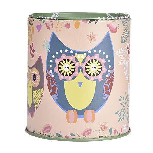 Millster Owl Piggy Bank Material Escolar portalápices Regalo para Estudiantes Hucha Decorativa Hucha Hucha Hucha búho portalápices para Escritorio Organizador