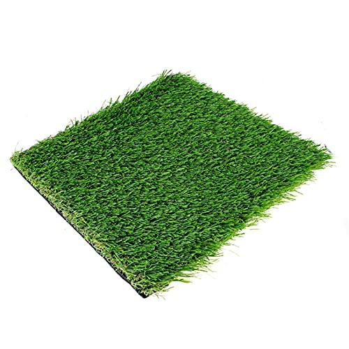 MOVKZACV Golf Chipping Übungsmatte, Golfmatte, tragbare Golf Schlagmatte, faltbare Grasmatte für Anfänger, Putting-Chipping Gras-Pad, Golf-Trainingshilfe (1 Stück - langes Gras)