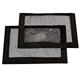 Ferocity Universale Netztasche Beutel mit Klett 2er Pack Organizer 30 x 20 cm 2 Stück [031