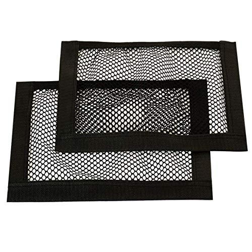 Ferocity Universale Netztasche Beutel mit Klett 2er Pack (haftet an Kofferraum) Organizer 40 x 20 cm 2 Stück [031/1]