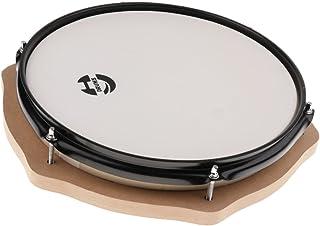 Prettyia 12インチダムドラム 練習パッド ドラミングサイレンサー ドラムアクセサリー