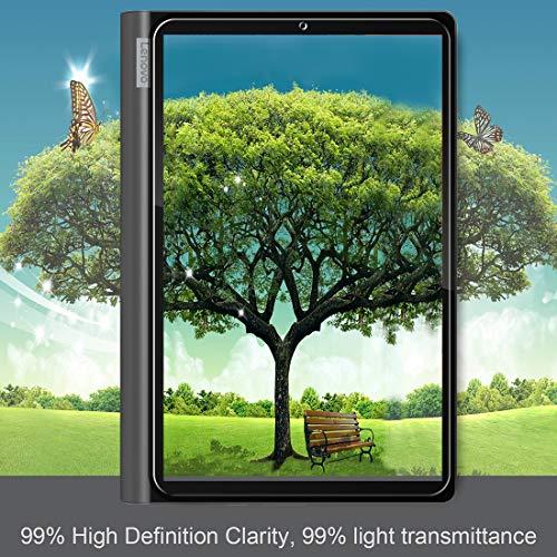 ivoler Panzerglas Schutzfolie für Lenovo Yoga Smart Tab 10.1 Zoll, Panzerglasfolie Folie Displayschutzfolie Hartglas Gehärtetem Glas DisplayPanzerglas Displayschutz