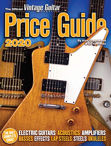 The Official Vintage Guitar Magazine Price Guide, 2020