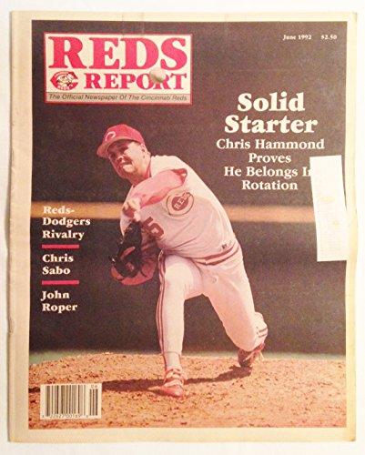 """Reds Report"" - Official Newspaper of Cincinnati Reds - Chris Hammond, Chris Sabo, & John Roper - June, 1992"