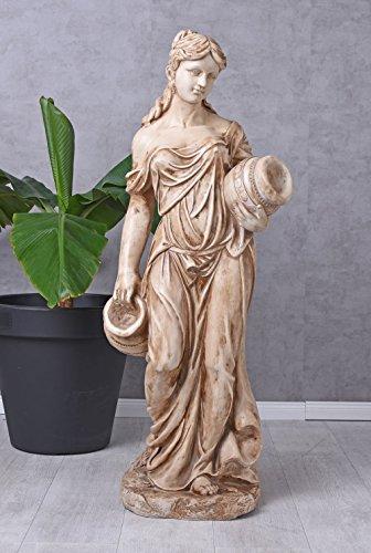 Unbekannt Gartenfigur XXL Frauenfigur Landhausstil Skulptur Frau Statue Terrassenfigur yac042 Palazzo Exklusiv