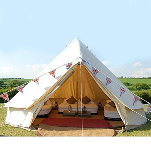 Himalaya Bell Tent Stand Canvas Indian Luxury Tent