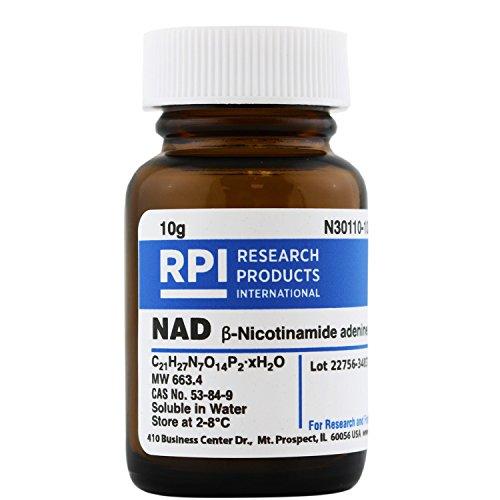NAD [?-NAD] [?-Nicotinamide Adenine Dinucleotide, Oxidized Free Acid Hydrate], 10 Grams