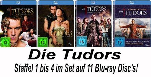 Die Tudors - Staffel 1-4 [Blu-ray]