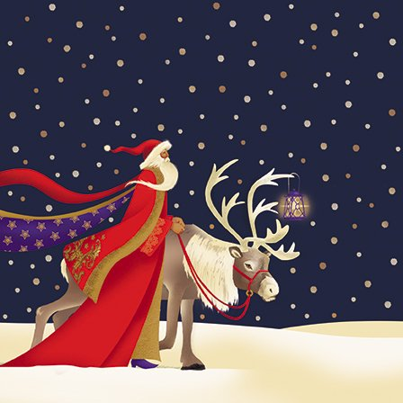 Biglietti natalizi di beneficenza–illumina la strada–confezione da 8cartoline di Natale per beneficenza60 centesimi circa vengono donati a sostegno di British Heart Foundation.