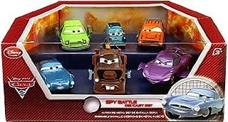 Disney / Pixar CARS 2 Movie Exclusive Die Cast Car 6Pack Playset Spy Battle