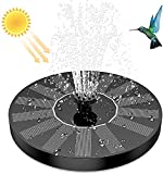 Fontana di accumulo di acqua solare Piccola fontana galleggiante Attrezzatura paesaggistica Lavandino o stagno Pompa dell'acqua fontana galleggiante