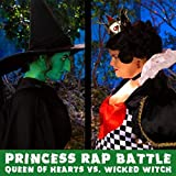 Queen of Hearts vs. Wicked Witch (Princess Rap Battle) [Explicit]