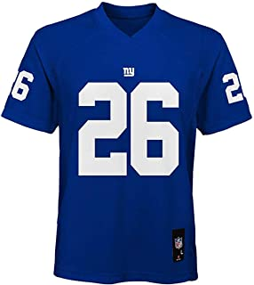 Saquon Barkley New York Giants #26 Blue Youth Mid Tier Home Jersey