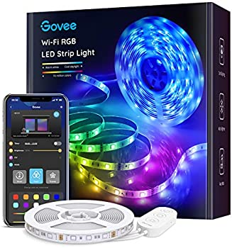 Govee 16.4-Foot Smart WiFi LED Strip Lights