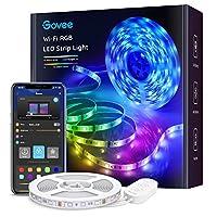Striscia LED Smart WiFi RGB – Compatibile con Amazon Alexa e Google Assistant