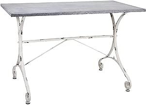 IMAX Katie Galvanized Table