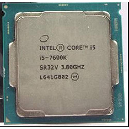 Intel Core I5-7600K I5 7600K I5 7600K CPU LGA 1151-land FC-LGA 14 Nanometers Quad-Core CPU