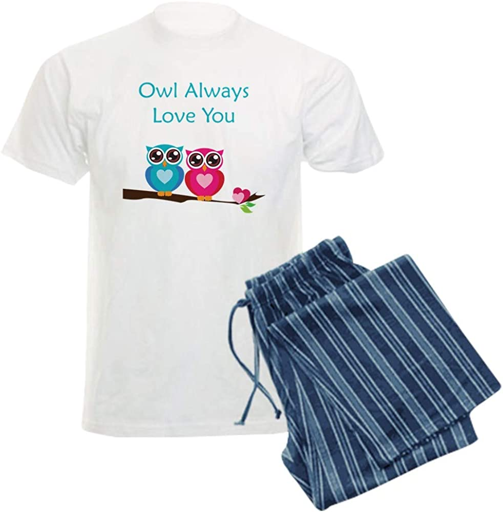 CafePress Rapid rise Owl Always Factory outlet Love You Pajama Set