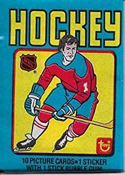 1979 Topps Hockey Card Factory Sealed Pack fresh from box 10 cards and 1 sticker Chance of a Gretzky rookie