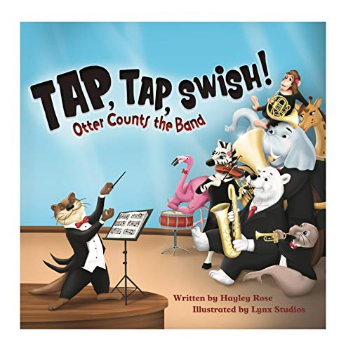 Tap, Tap, Swish: Otter Counts the Band (English Edition)