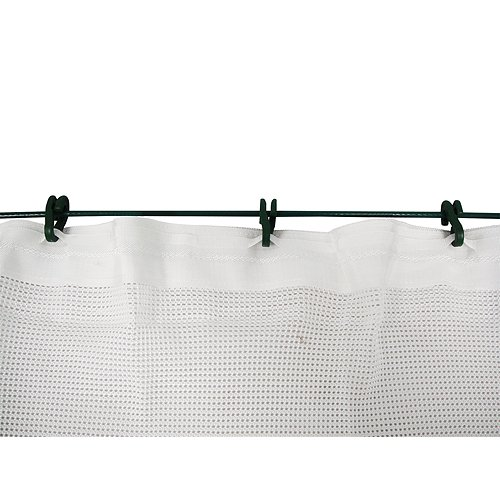 BCY Archery Backstop Netting, White, 10x30-Feet