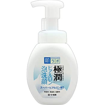 Hada Labo Japan Gokujyun Hyaluronic Acid Moisture Bubble Foaming Cleanser 160ml