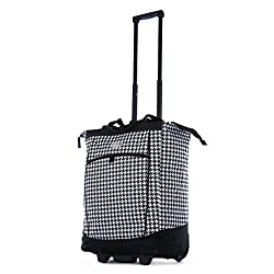 Best Rolling Bags for Teachers - Olympia Fashion Rolling Shopper Tote