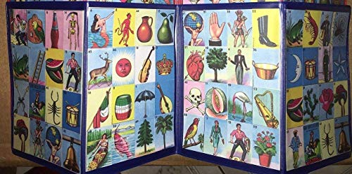 Authentic Mexican Loteria Bingo Chalupa Game 4 Boards Accordion Laminated Buy Online In Burkina Faso Handmade Products In Burkina Faso See Prices Reviews And Free Delivery Over 40 000 Cfa Desertcart