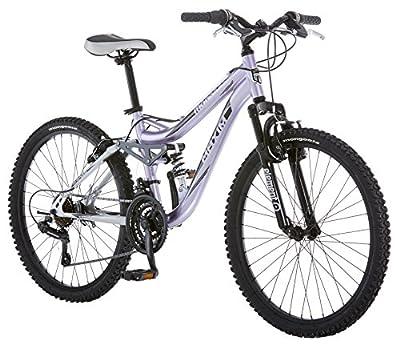 Mongoose Maxim Girls Mountain Bike, 24-Inch Wheels