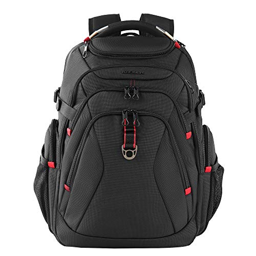 KROSER Travel Laptop Backpack 17.3 Inch XL Heavy Duty Computer Backpack with Hard Shell...