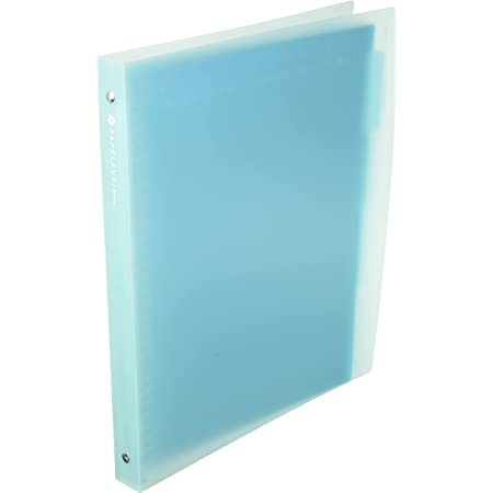 キョクトウ バインダー パペルールブリューム A4 30穴 ブルー LN224B