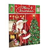 Amscan 670203 Merry Christmas Wall Vinyl Scene Setters Kit, 5 Ct. | Party Decoration 59' x 32 1/2'