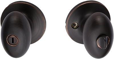 Sure-Loc Hardware AR102 10B Arapaho Privacy Knob, Oil-Rubbed Bronze