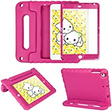 HDE iPad Mini 5 & 4 Case for Kids with Built in Screen Protector - Shockproof Handle Stand with Apple Pencil Holder Compatibile with New iPad Mini 5th Generation and iPad Mini 4th Generation Tablet