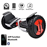 EVERCROSS Hoverboard Phantom Self Balancing Scooter 2 Wheel Board – UL2272 Certified, All-Terrain...