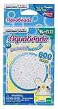 Aquabeads- Solid Beads, Color Blanco (Epoch para Imaginar 32638)